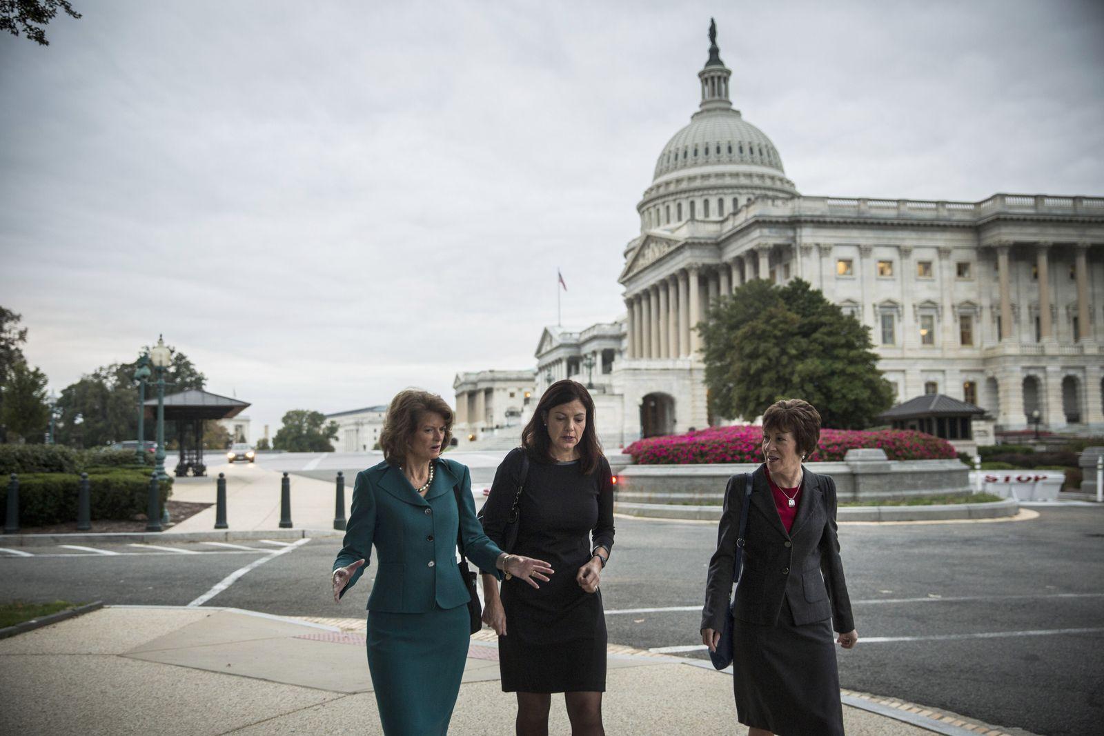 Lisa Murkowski / Kelly Ayotte / Susan Collins