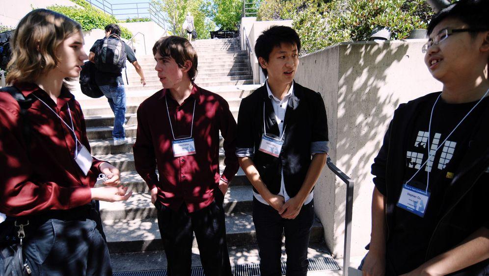 Jugendliche IT-Gründer: Dollar-Millionen, bitte hier entlang