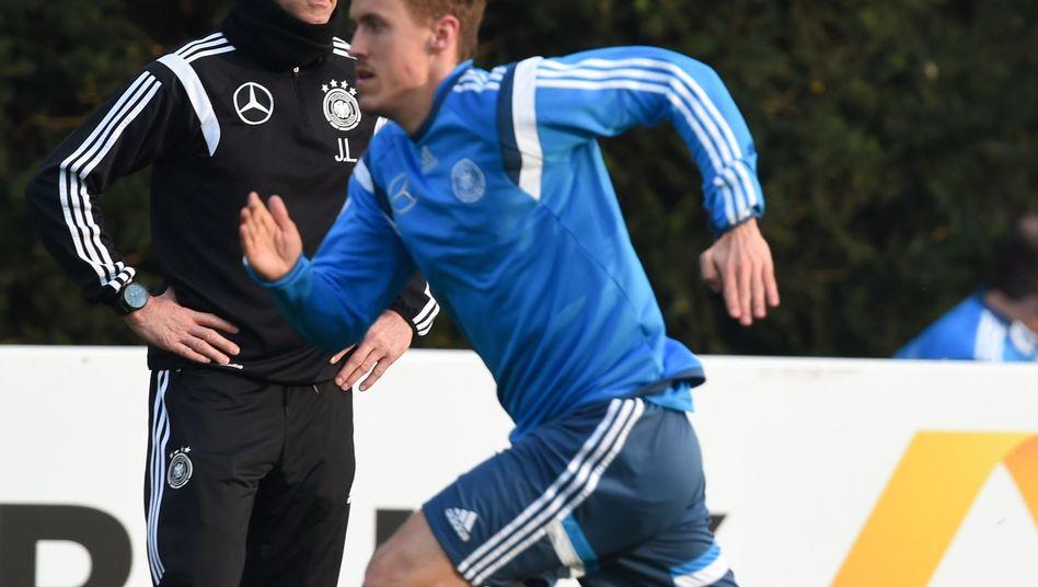 Bundestrainer Joachim Löw, Nationalspieler Max Kruse