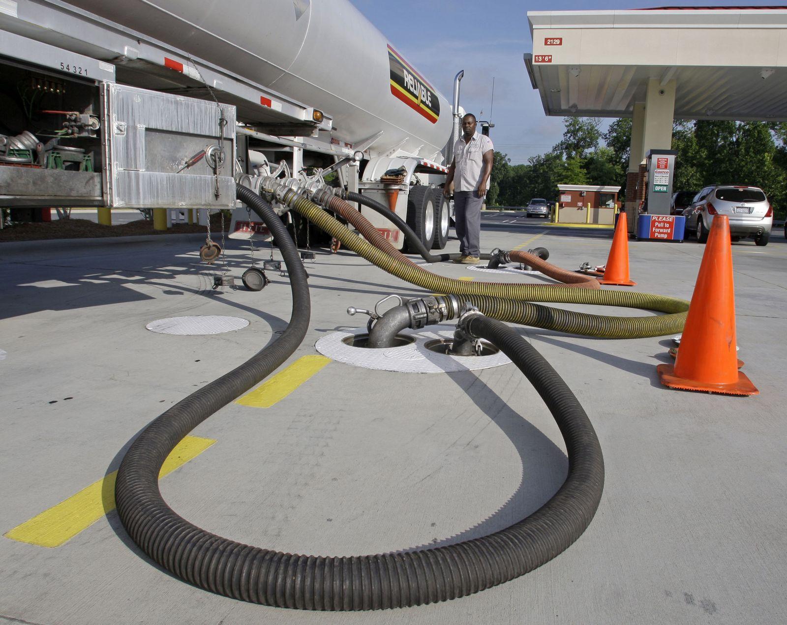 Öl/ Ölpreis/ Tankwagen