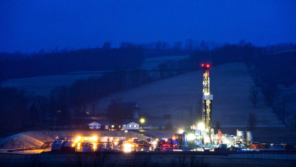 Fracking in den USA (Archivbild): Begrenzter Platz in der Bundesrepublik