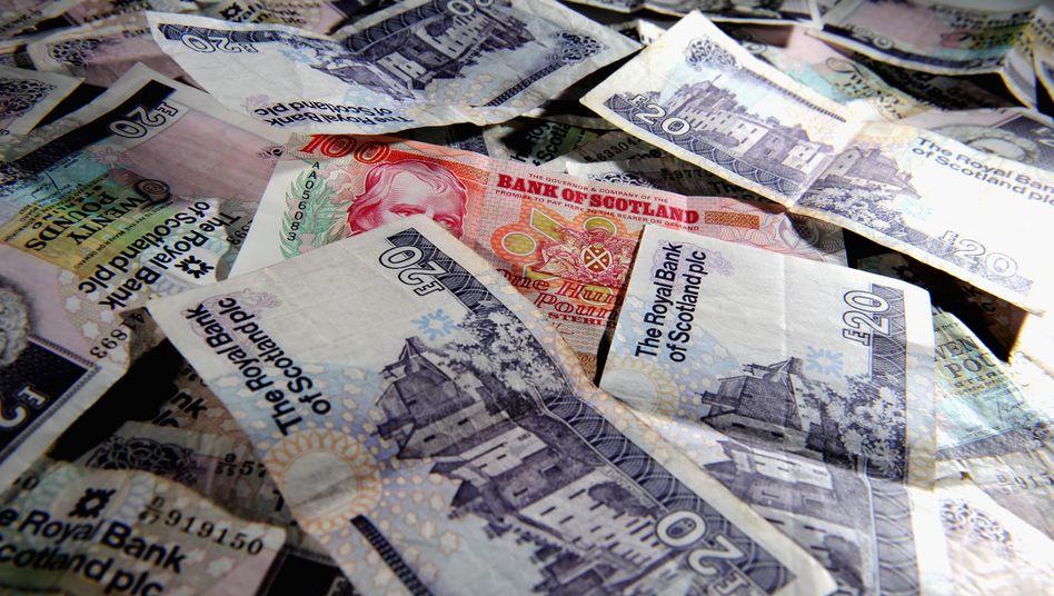 Schottische Banknoten: Keine Chance auf eine Währungsunion