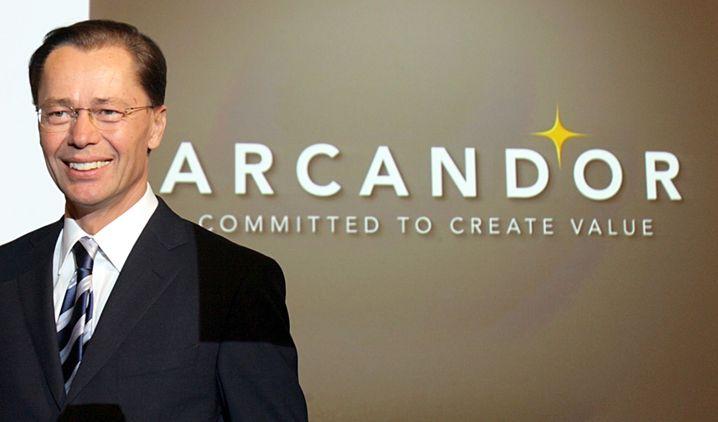 Neuer Name, alte Probleme: 2007 tauft Middelhoff den Konzern in Arcandor um