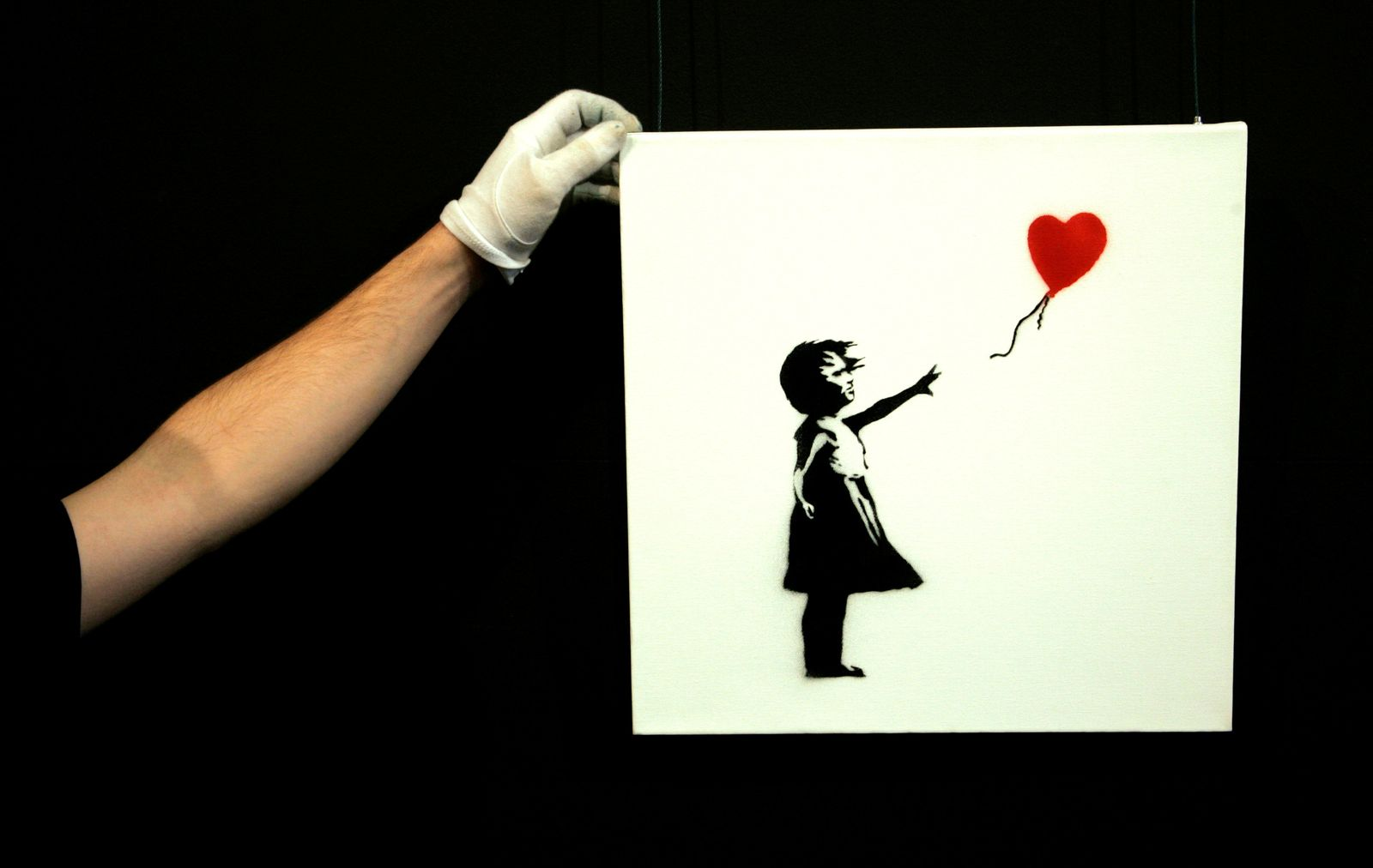 BANKSY/ Balloon Girl