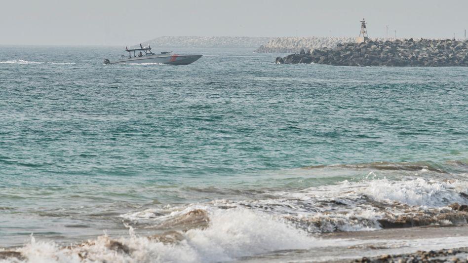 Patrouillenboot vor der Küste der Vereinigten Arabischen Emirate: Angespannte Sicherheitslage