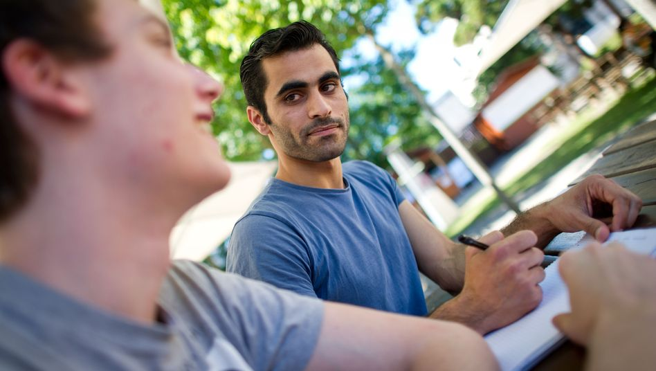 Auf Augenhöhe: In Frankfurt treffen sich deutsche Studenten mit Flüchtlingen zum Erfahrungsaustausch