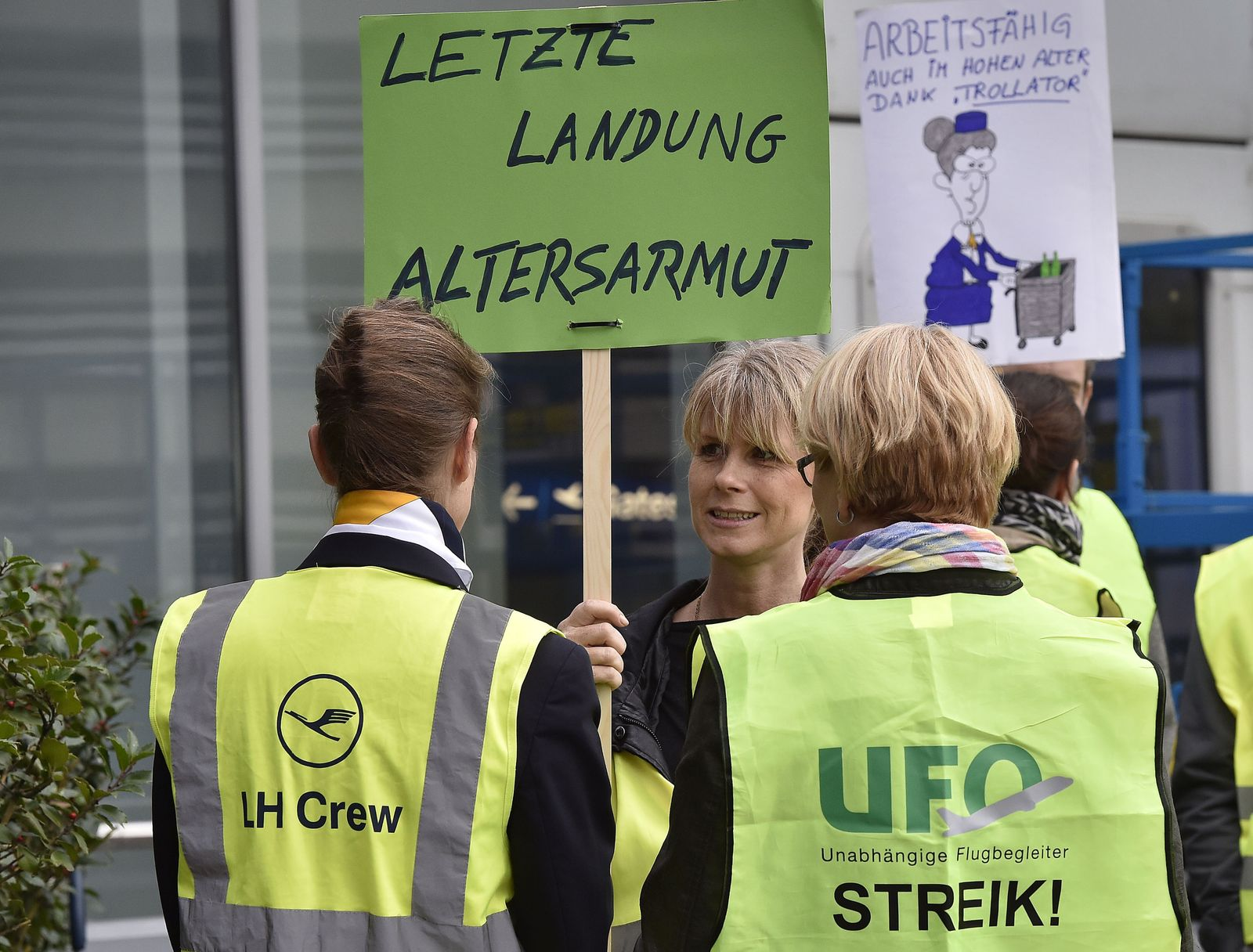 Lufthansa Streik gewerkschaft ufo