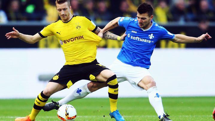 Dortmund gegen Darmstadt: Rekord und ein später Gegentreffer
