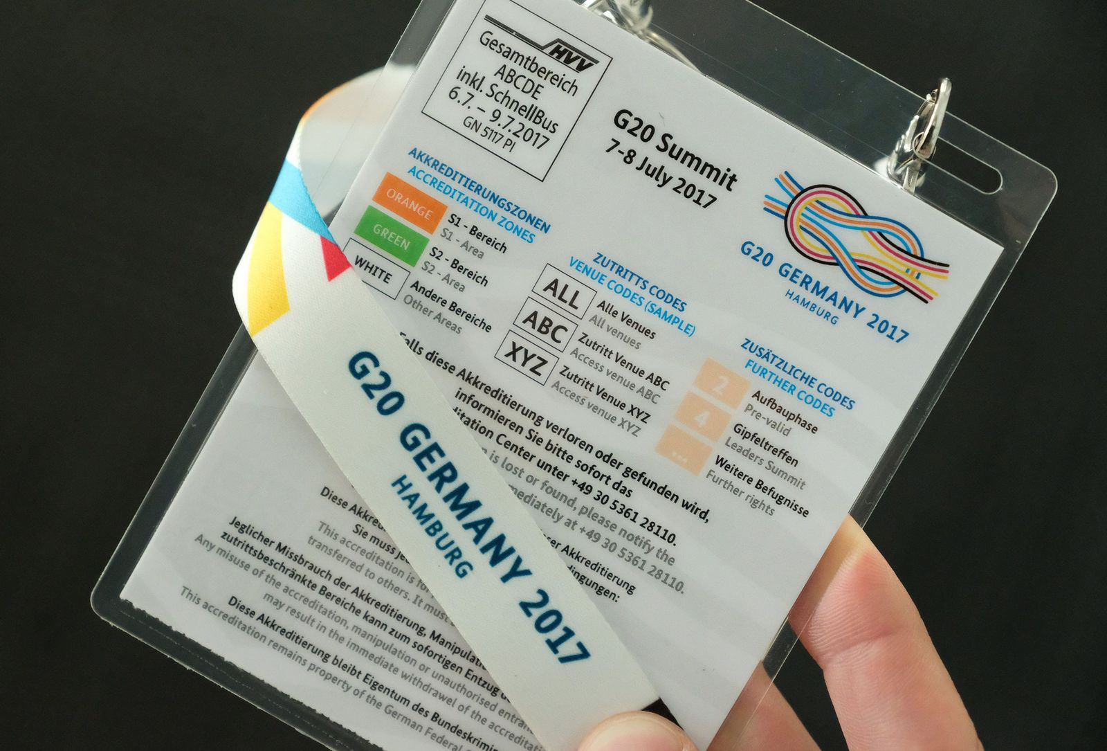 G20-Akkreditierung für Journalisten