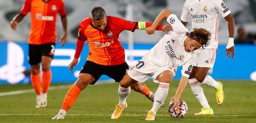 Champions League: Real Madrid verliert spektakulär gegen Schachtar Donezk