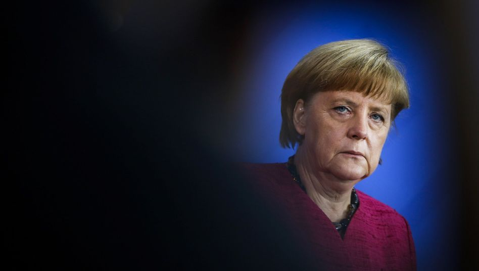 She'll offer tough rhetoric on Syria, but don't expect much more from German Chancellor Angela Merkel.