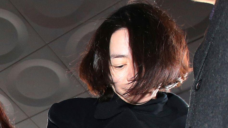 Ex-Korean-Air-Managerin Cho Hyun Anh: Gefängsnisstrafe wegen Nötigung