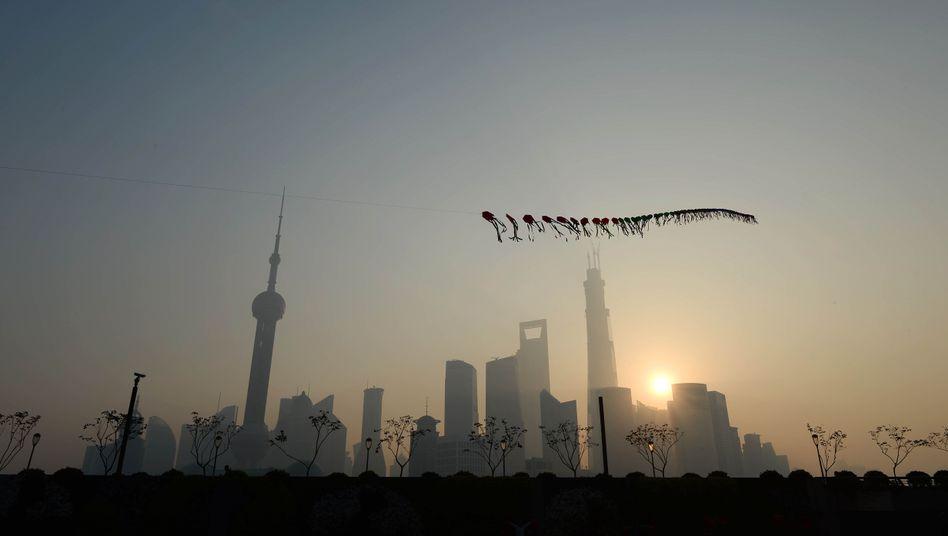 Smog in Shanghai (Archivbild): Wie gefährlich ist schlechte Luft?