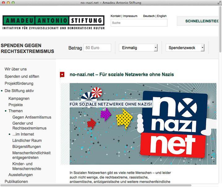 Das Projekt No-Nazi.net plädiert für soziale Netzwerke ohne Nazis