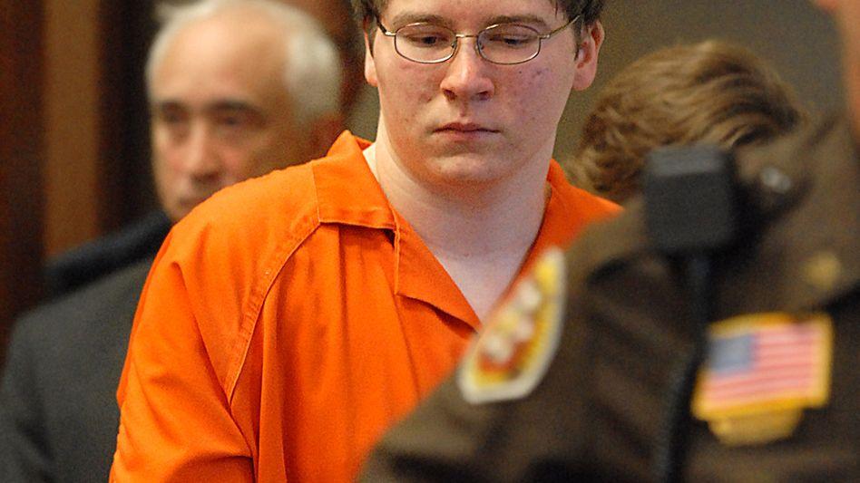 Brendan Dassey 2007 vor Gericht