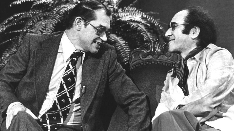Dieter Thoma (links) und Alfred Biolek