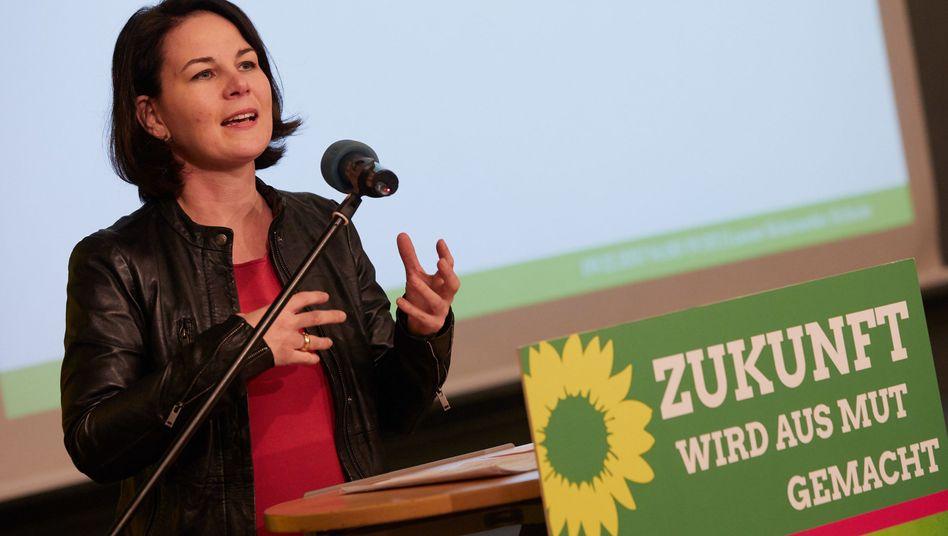 Grünen-Bundestagsabgeordnete Annalena Baerbock