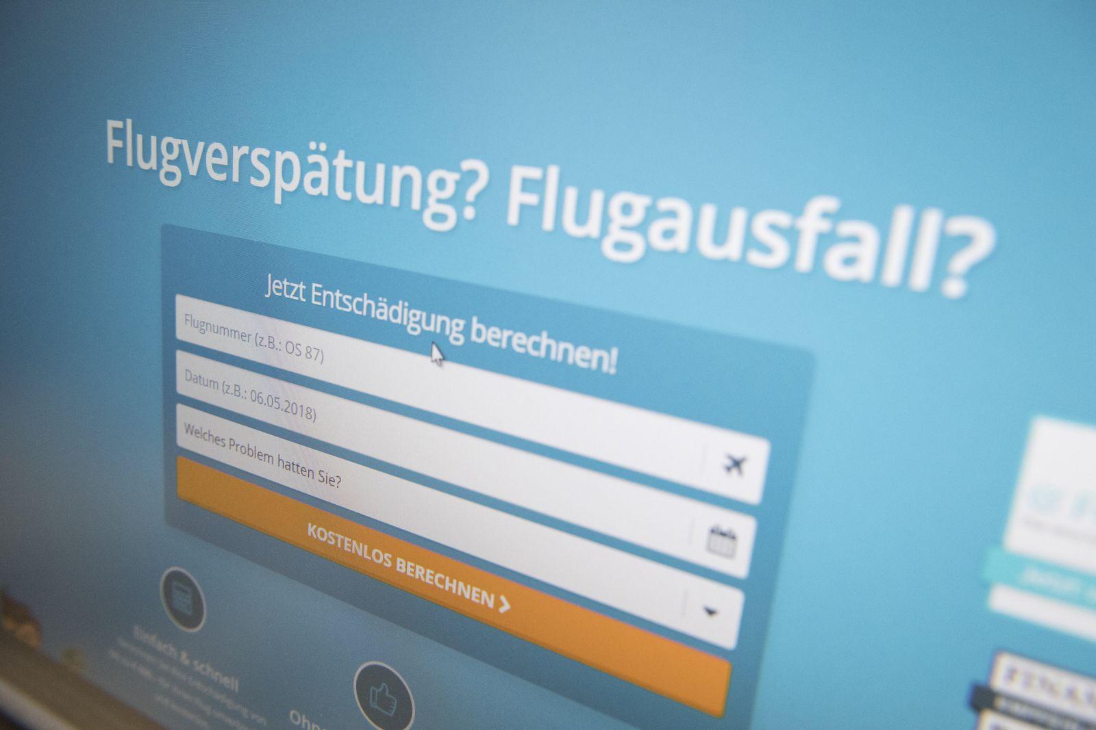 EINMALIGE VERWENDUNG Fluggastrecht/ Portale