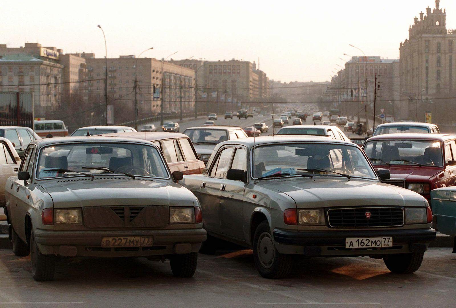 Moskau/ Zeitwandel/ 1997
