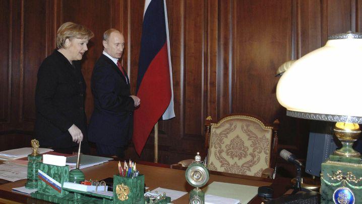 Merkel und Putin: Von Moskau nach Meseberg