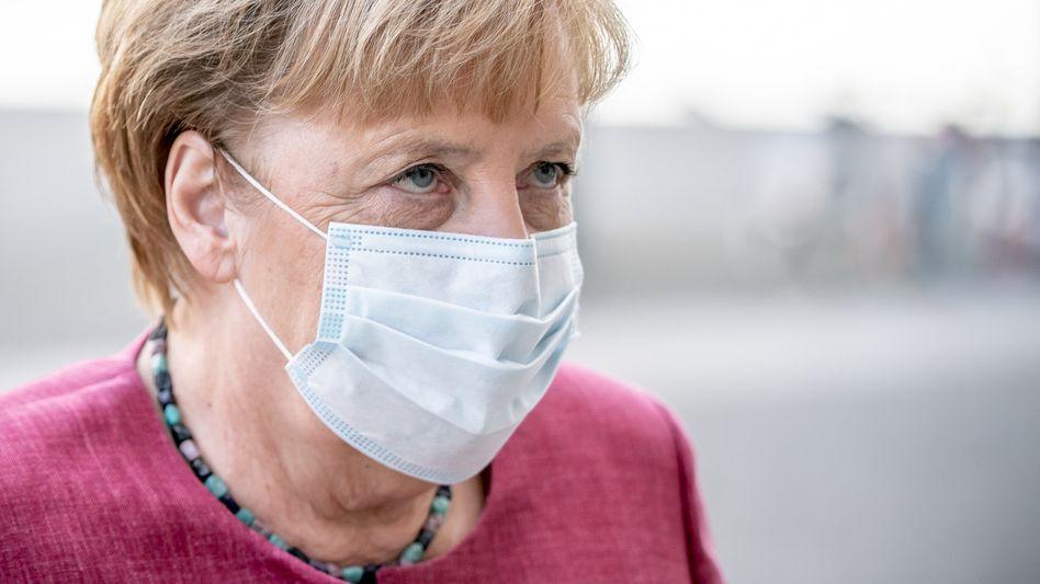 Bundeskanzlerin Angela Merkel: vorerst keine weiteren Öffnungsschritte in der Corona-Pandemie