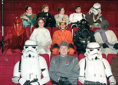 Star-Wars-Fans in München