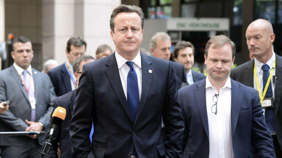 Pleite bei Juncker-Wahl: Briten feiern Cameron als Märtyrer