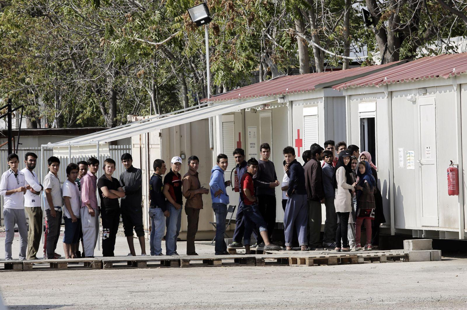 Griechenland / Eleonas / Flüchtlinge / Flüchtlingscamp