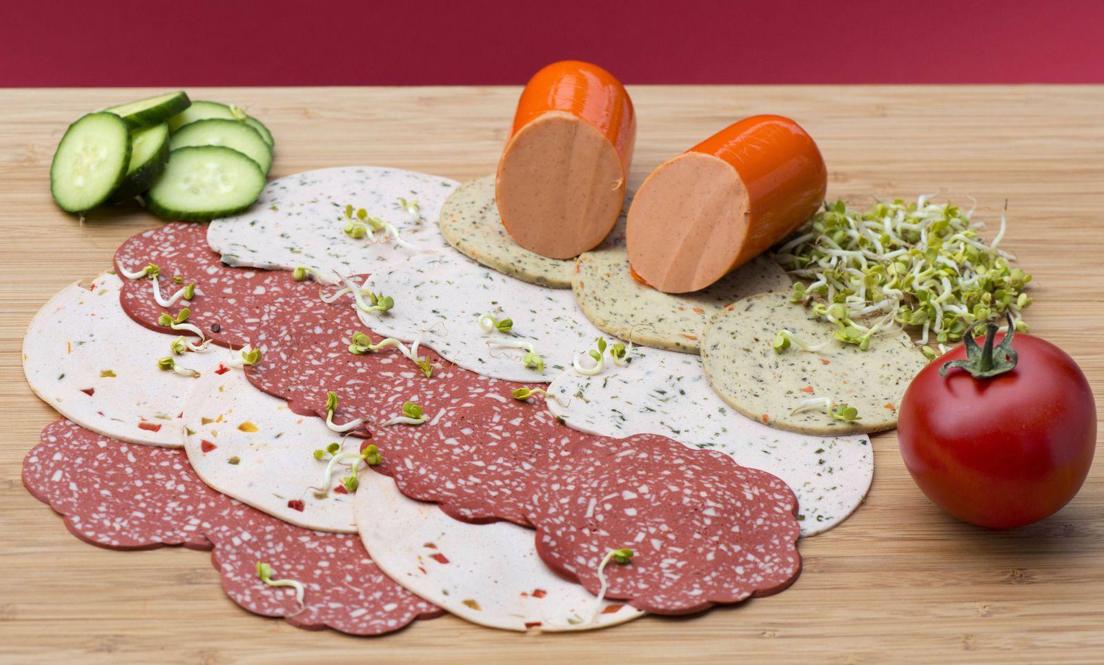 EINMALIGE VERWENDUNG Fleischersatz/ Wurstersatz/ Vegan/ Vegetarisch