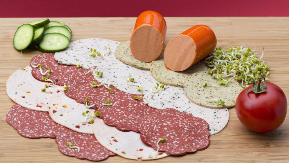 Vegane- und vegetarische Wurstersatzprodukte