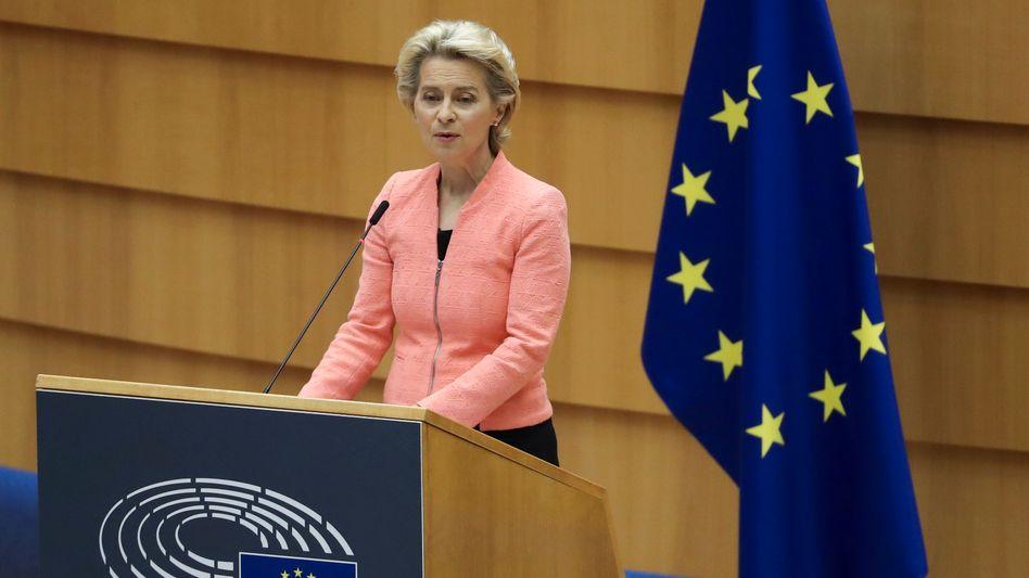 """Ursula von der Leyen: Der """"Green Deal"""" gilt als Kernziel ihrer Amtszeit als EU-Kommissionspräsidentin"""