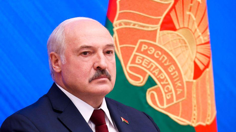 Machthaber Lukaschenko: »Er war ein Niemand für uns«