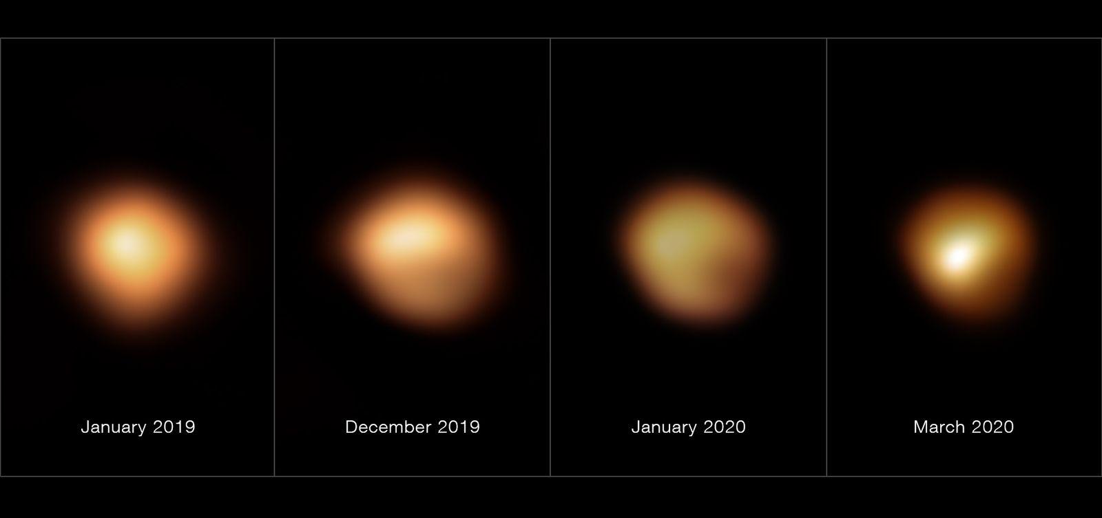 Dossier: Rätsel der «großen Verdunkelung» des Sterns Beteigeuze g