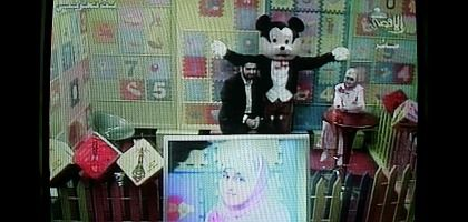 Sowing the seeds of hate: The Hamas satellite station Al-Aqsa recently used a Mickey Mouse clone to teach Muslim children -- in Gaza and Europe -- to hate Jews.