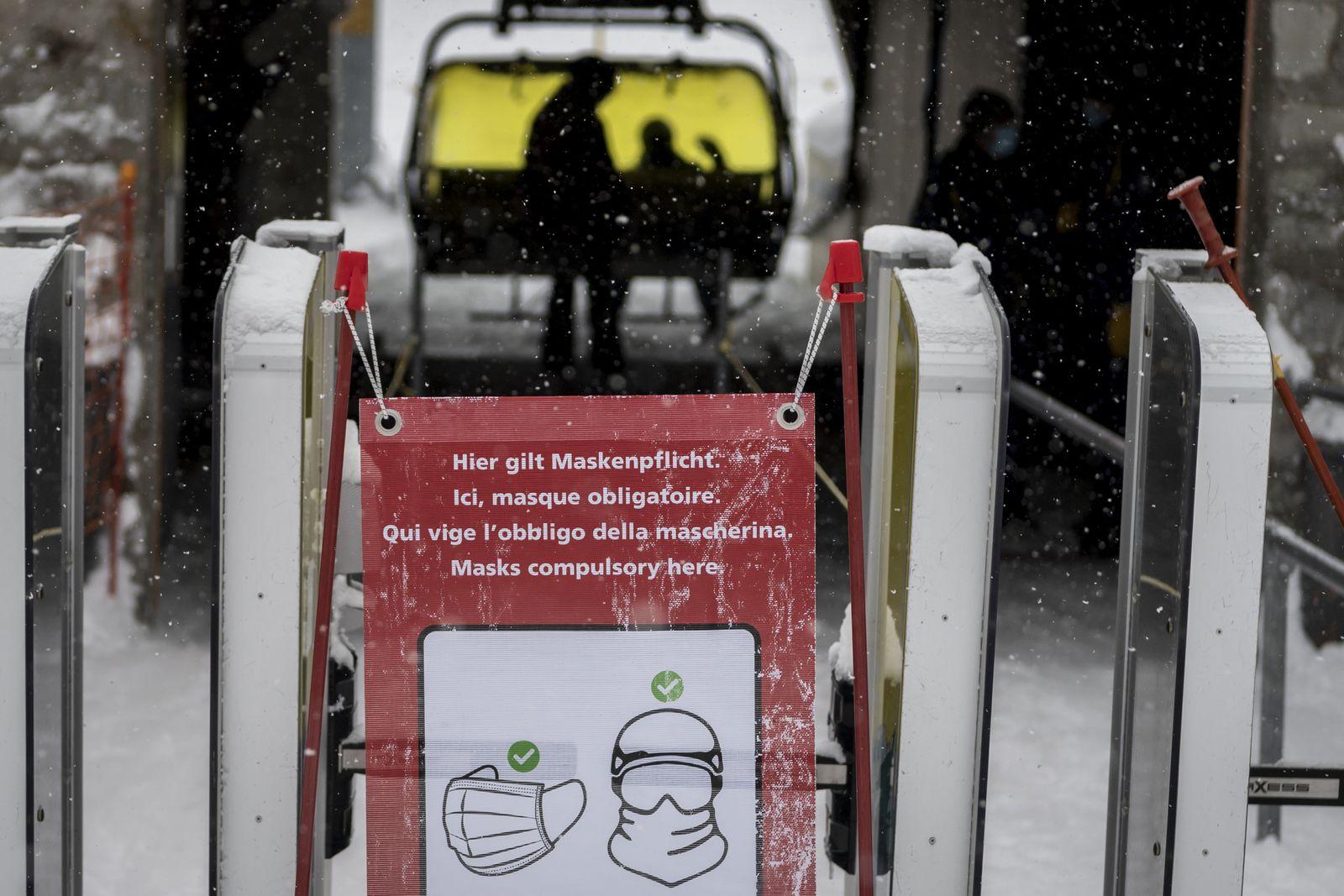 Ski-Weltcup in der Schweiz