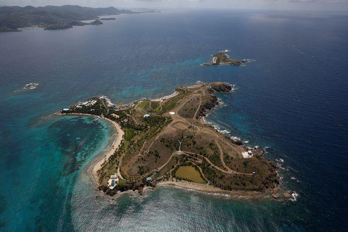 Little St. James Island in der Karibik: Epsteins Privatinsel