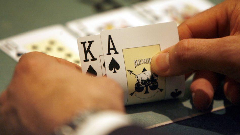 Pokerspieler in Hamburg