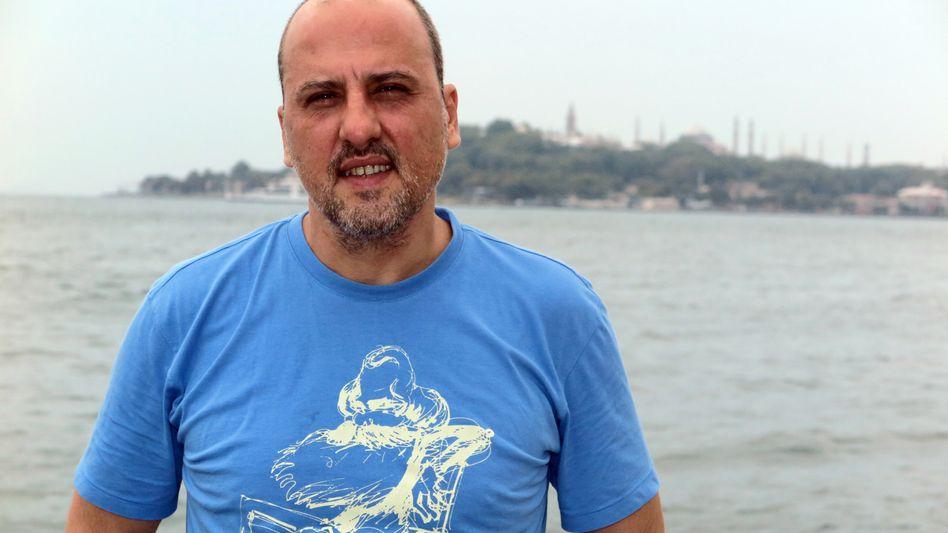 Ahmet Sik im August in Istanbul