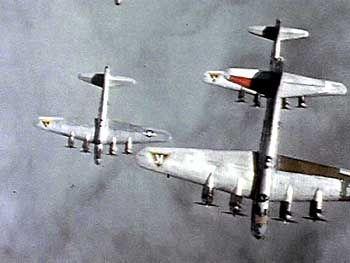 """Britische Bomber im Anflug auf deutsche Städte: """"Es war eine unglaubliche Hitze"""""""