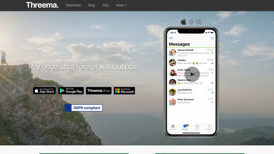 Threema-Website