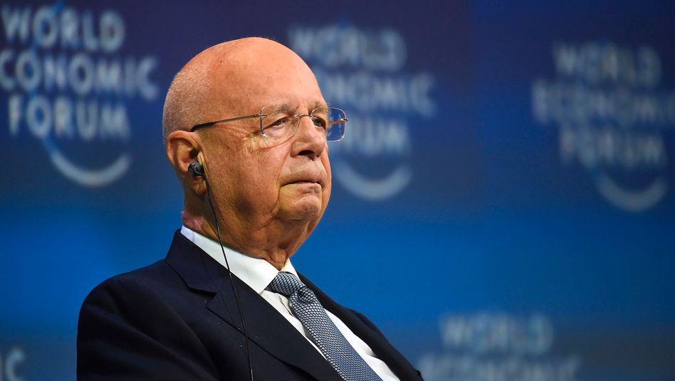 WEF-Gründer Klaus Schwab: »Böswillig ausgelegt«