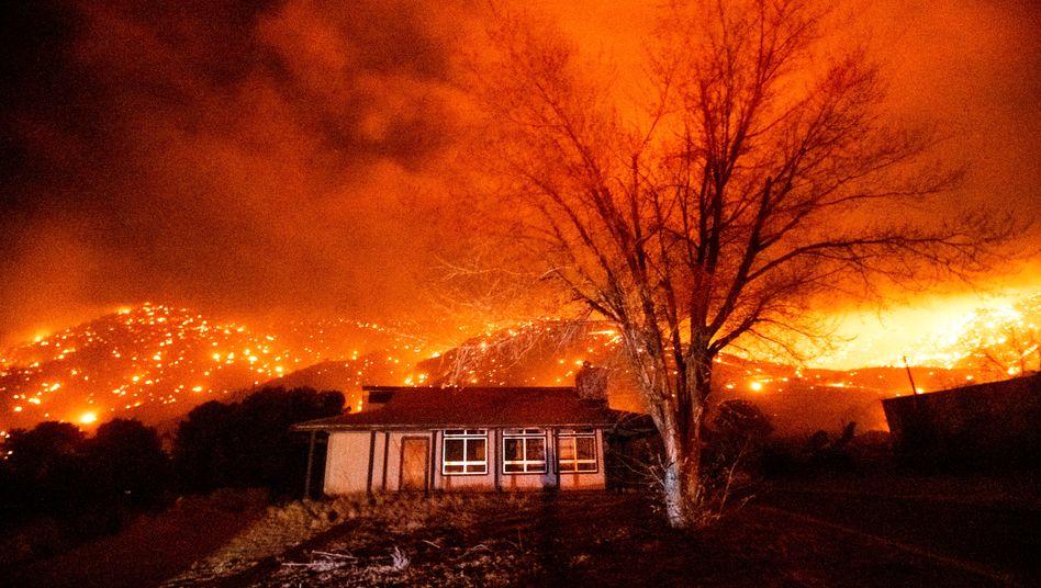 Waldbrände im November 2020 in Kalifornien: Zehn Tage nicht vor die Tür