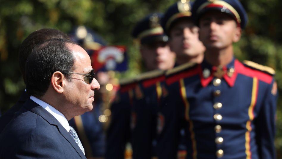 Ägyptens Präsident Abdel Fattah al-Sisi (Archivfoto)