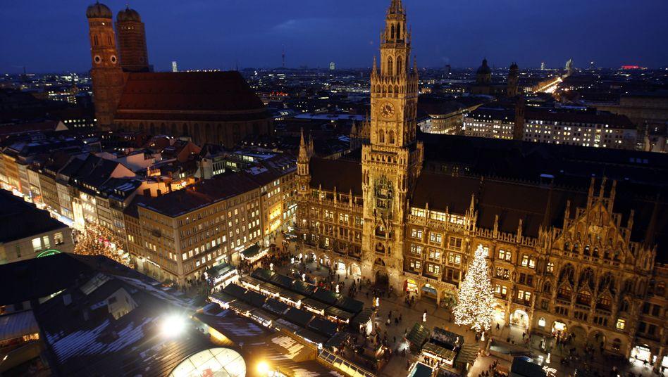 Marienplatz in München: In der Innenstadt liegt der teuerste Bauplatz der Republik