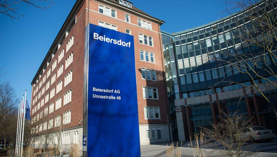 Unternehmenszentrale der Beiersdorf AG in Hamburg