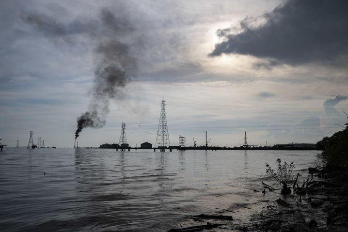 Ölförderanlage von PDVSA