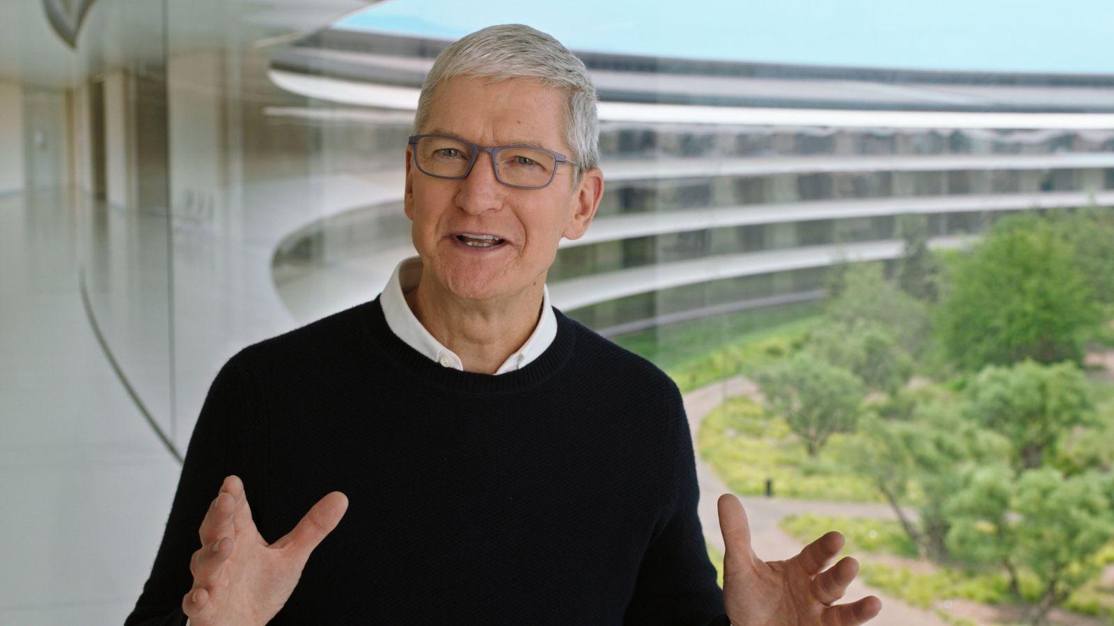 Apple-Event in Cupertino
