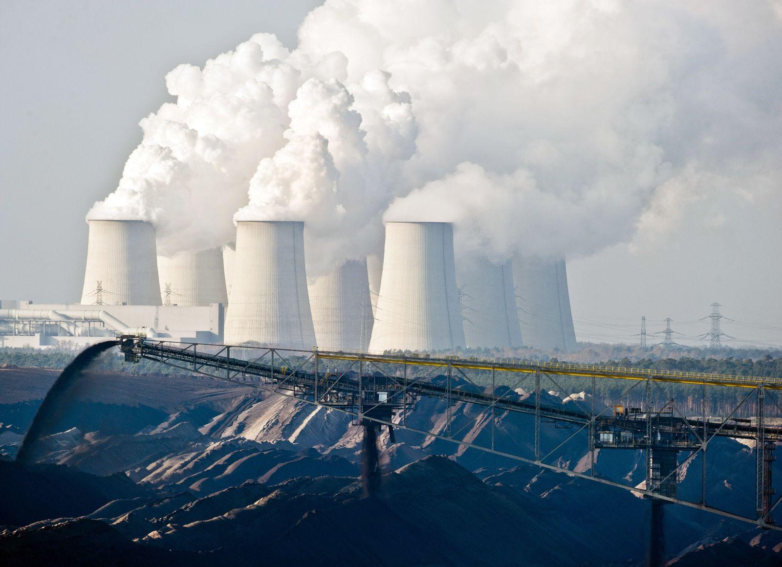 CO2-Steuer / Braunkohletagebau / Braunkohle