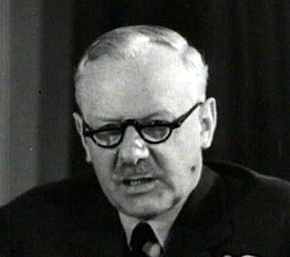 """""""Bomber-Harris"""": Der Oberkommandierende der britischen Luftwaffe Sir Arthur Harris"""