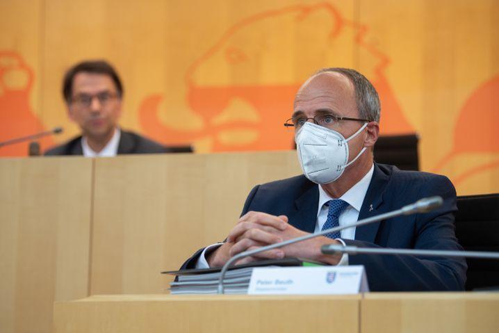 Hessens Innenminister Peter Beuth: »Chats nicht vornehmlich radikal geprägt«